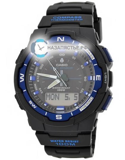 Мужские японские наручные часы Casio LIN